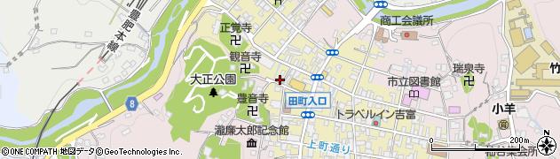 大分県竹田市竹田町507周辺の地図