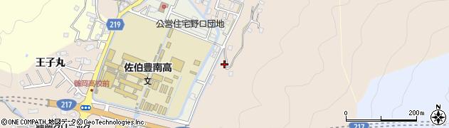 大分県佐伯市鶴望4104周辺の地図