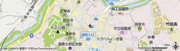 大分県竹田市竹田町520周辺の地図
