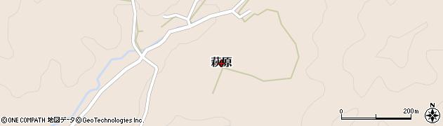 熊本県和水町(玉名郡)萩原周辺の地図