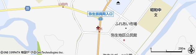 大分県佐伯市弥生大字上小倉1120周辺の地図