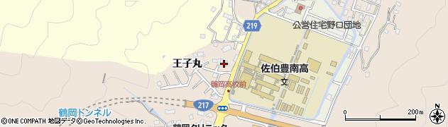 大分県佐伯市鶴望2773周辺の地図