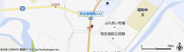 大分県佐伯市弥生大字上小倉1118周辺の地図