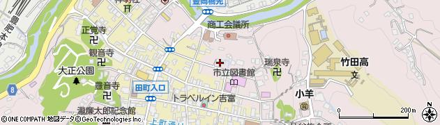 大分県竹田市竹田1964周辺の地図