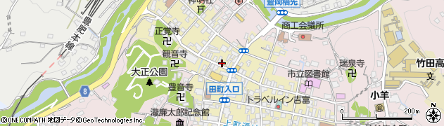 大分県竹田市竹田町518周辺の地図