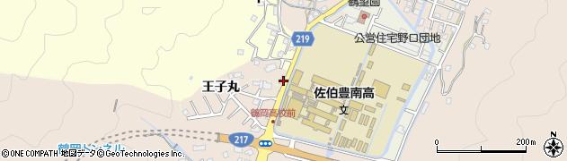 大分県佐伯市鶴望2776周辺の地図