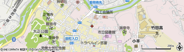 大分県竹田市竹田町321周辺の地図