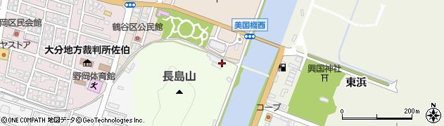 大分県佐伯市中江町5周辺の地図