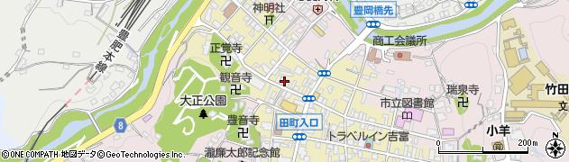 大分県竹田市竹田町515周辺の地図