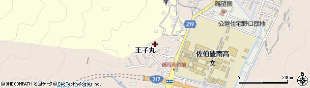 大分県佐伯市鶴望2936周辺の地図