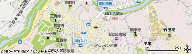 大分県竹田市竹田町354周辺の地図