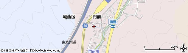 大分県佐伯市上岡2327周辺の地図