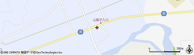 大分県佐伯市弥生大字山梨子1470周辺の地図