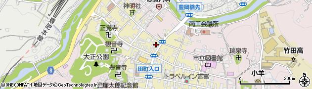 大分県竹田市竹田町522周辺の地図