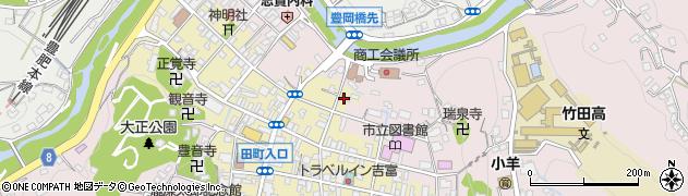 大分県竹田市竹田町324周辺の地図