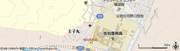 大分県佐伯市鶴望2910周辺の地図