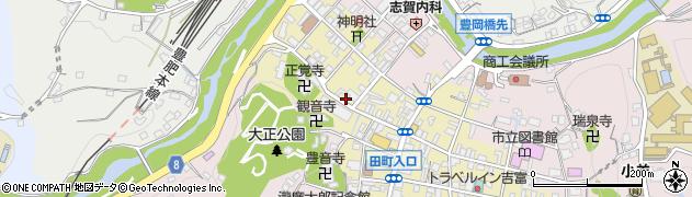大分県竹田市竹田町605周辺の地図
