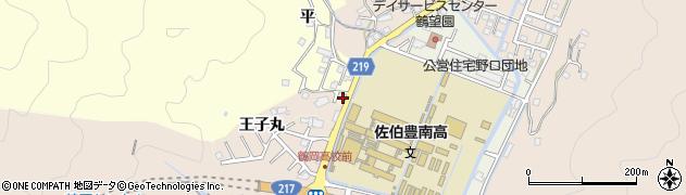 大分県佐伯市鶴望2902周辺の地図