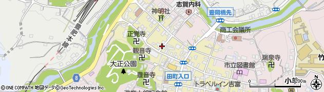 大分県竹田市竹田町601周辺の地図
