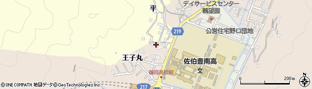 大分県佐伯市鶴望2911周辺の地図