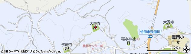 大分県竹田市飛田川2030周辺の地図