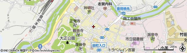 大分県竹田市竹田町534周辺の地図