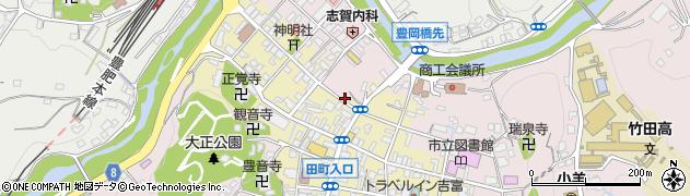 大分県竹田市竹田町1899周辺の地図