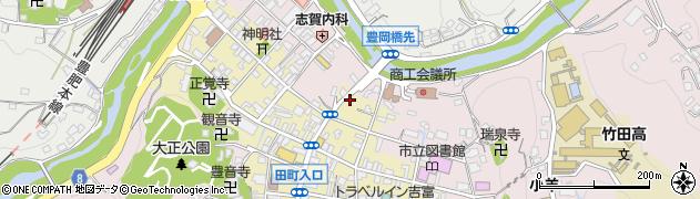 大分県竹田市竹田町343周辺の地図