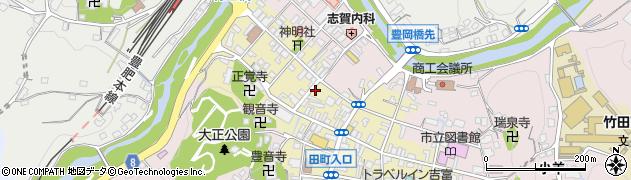 大分県竹田市竹田町536周辺の地図