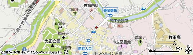 大分県竹田市竹田町348周辺の地図
