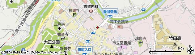 大分県竹田市竹田町347周辺の地図
