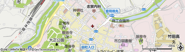 大分県竹田市竹田1899周辺の地図