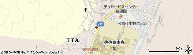 大分県佐伯市鶴望5201周辺の地図