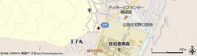 大分県佐伯市鶴望5203周辺の地図