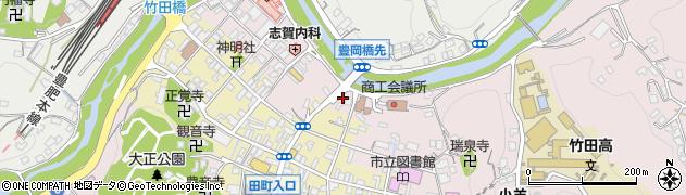 大分県竹田市竹田1911周辺の地図