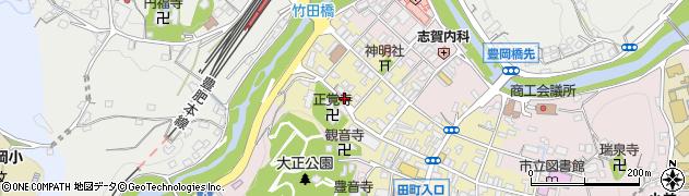 大分県竹田市竹田町179周辺の地図
