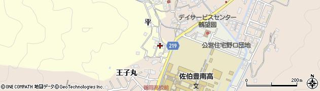大分県佐伯市鶴望5205周辺の地図