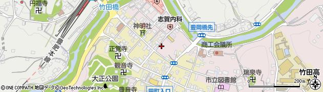 大分県竹田市竹田1898周辺の地図