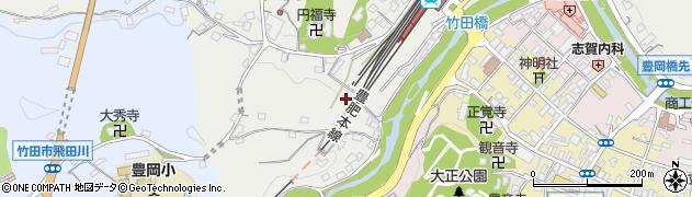 大分県竹田市会々2403周辺の地図