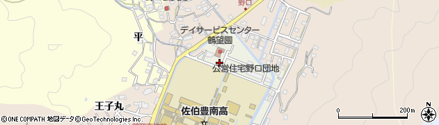 大分県佐伯市鶴望5157周辺の地図