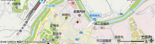 大分県竹田市竹田1897周辺の地図
