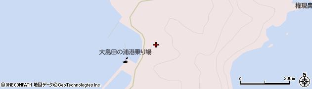 大分県佐伯市鶴見大字大島1054周辺の地図