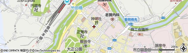 大分県竹田市竹田町585周辺の地図