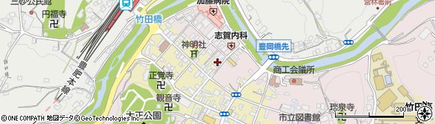 大分県竹田市竹田1886周辺の地図