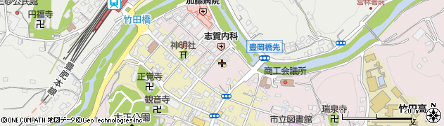 大分県竹田市竹田1896周辺の地図