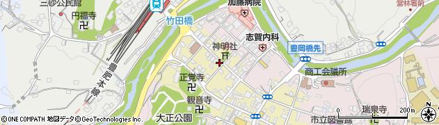 大分県竹田市竹田町584周辺の地図