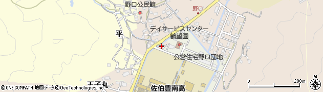 大分県佐伯市鶴望5149周辺の地図