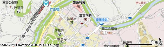 大分県竹田市竹田1887周辺の地図