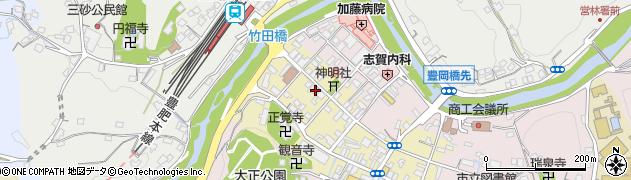 大分県竹田市竹田町581周辺の地図