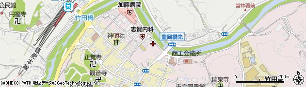大分県竹田市竹田1894周辺の地図